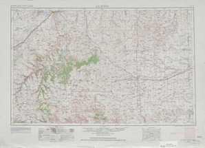 La Junta topographical map