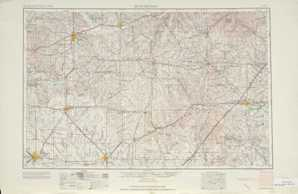 Hutchinson topographical map