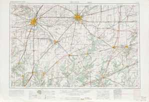 Decatur topographical map