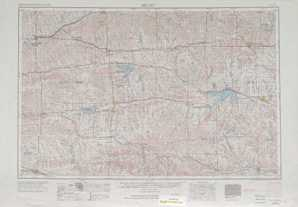 Beloit topographical map