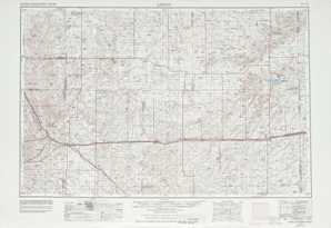 Limon topographical map