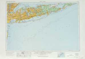 New York topographical map