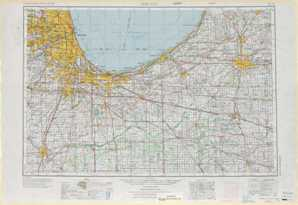Chicago topographical map