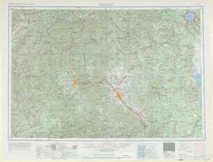 Medford topographical map