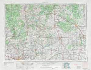 Midland topographical map