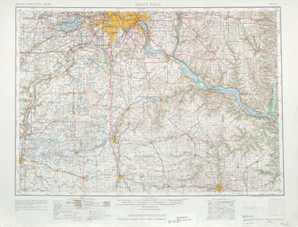 St Paul topographical map