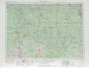 Iron Mtn topographical map