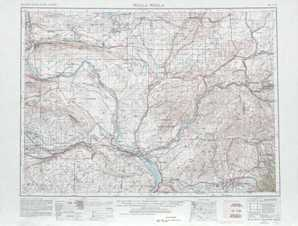 Walla Walla topographical map