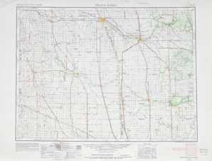 Grand Forks topographical map
