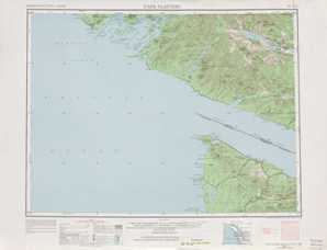 Cape Flattery topographical map