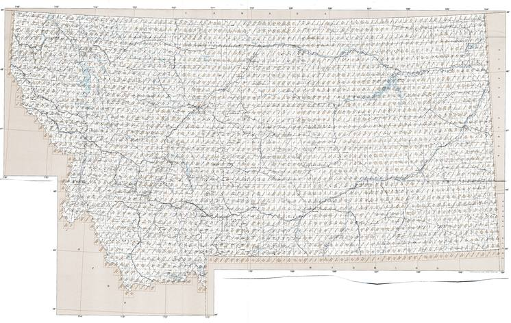 MT topo index map 24k Scale