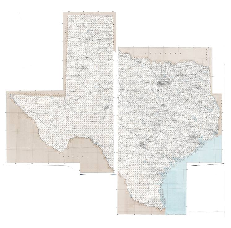 TX topo index map 24k Scale