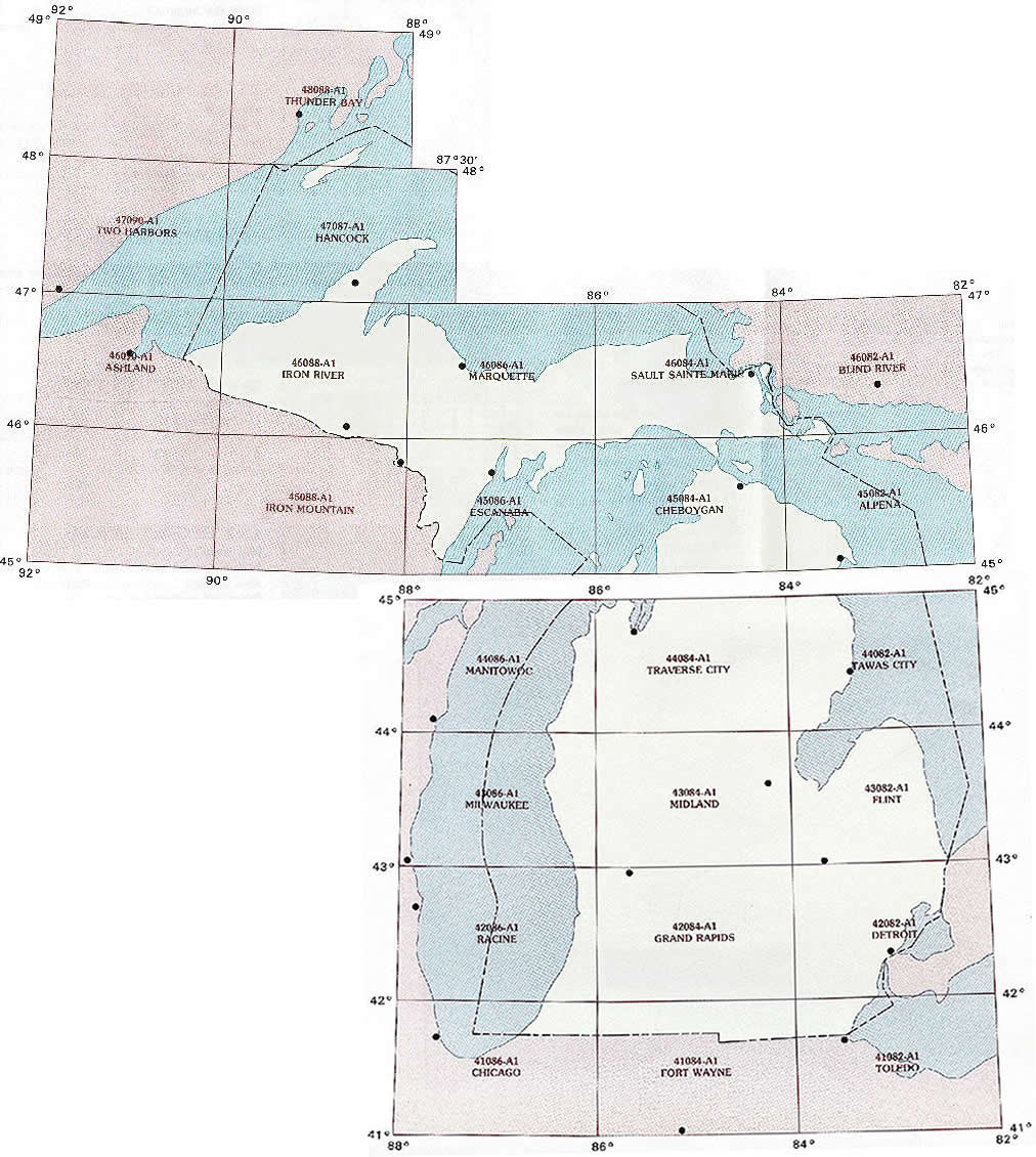 Michigan topographic index maps mi state usgs topo quads 24k mi topo index map 250k scale publicscrutiny Image collections
