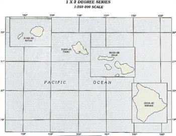 HI topo index map 250k scale